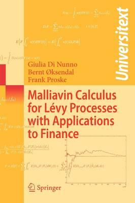 Malliavin Calculus for Levy Processes with Applications to F (BOK)