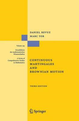 Continuous Martingales and Brownian Motion (BOK)