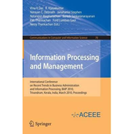 Information Processing and Management (BOK)
