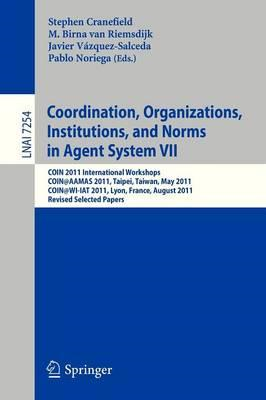 Coordination, Organizations, Instiutions, and Norms in Agent (BOK)