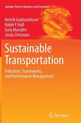Sustainable Transportation (BOK)