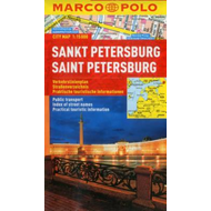 St Petersburg Marco Polo City Map (BOK)