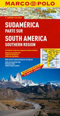 South America South Marco Polo Map (BOK)