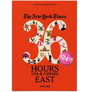 New York Times: 36 Hours, USA & Canada, East (BOK)