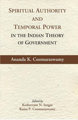 Spiritual Authority and Temporal Power in the Indian Theory (BOK)