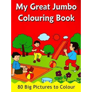 My Great Jumbo Colouring Book (BOK)