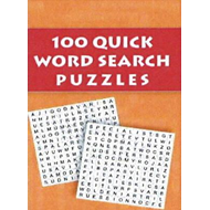 100 Quick Word Search Puzzles (BOK)