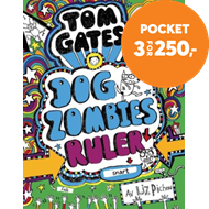 Produktbilde for Dogzombies ruler (snart) (BOK)