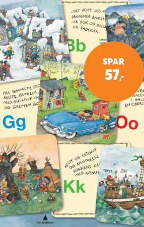 Min Egen Koffert Med Abc Kort 30 Bokstavkort Av Kari Grossmann