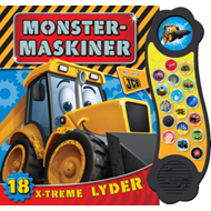 Monstermaskiner - 18 x-treme lyder (BOK)