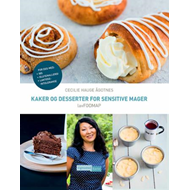 Kaker og desserter for sensitive mager - lavFODMAP (BOK)