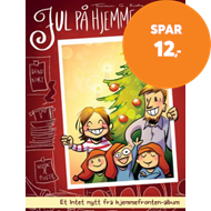 Produktbilde for Jul på hjemmefronten! (BOK)