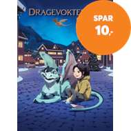 Produktbilde for Dragevokterens jul (BOK)