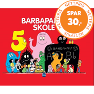 Produktbilde for Barbapapas skole (BOK)