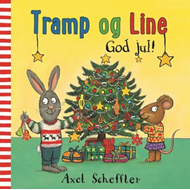 Tramp og Line - god jul! (BOK)