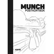Munch Postcard Book (BOK)