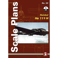 Scale Plans No. 59: Heinkel He 111 H 1/32 (BOK)