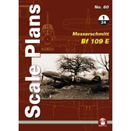 Scale Plans No. 60: Messerschmitt Bf 109 E 1/24 (BOK)
