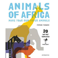 3D Paper Craft Animals of Africa (BOK)