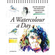 Watercolour a Day: 365 Tips and Ideas for Improving your Ski (BOK)