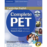 Complete PET for Spanish Speakers Student's Book with Answer (BOK)