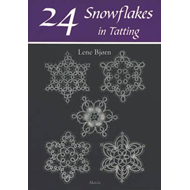 24 Snowflakes in Tatting (BOK)