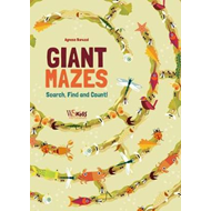 Search and Count: Giant Mazes (BOK)