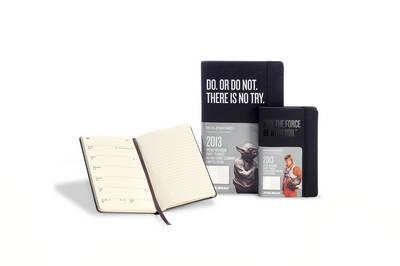 2013 Moleskine Star Wars Pocket 12 Month Weekly Dairy (BOK)