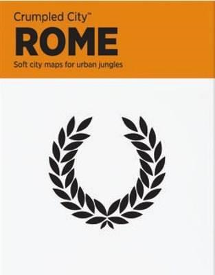 Rome Crumpled City Map (BOK)