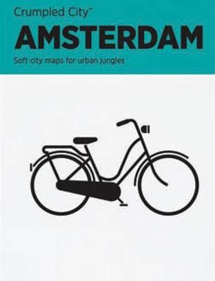 Amsterdam Crumpled City Map (BOK)