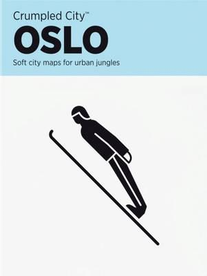 Oslo Crumpled City Map (BOK)
