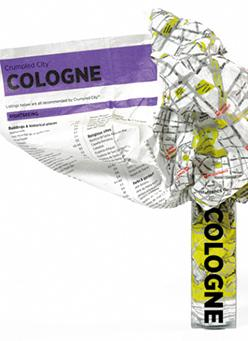 Cologne Crumpled City Map (BOK)