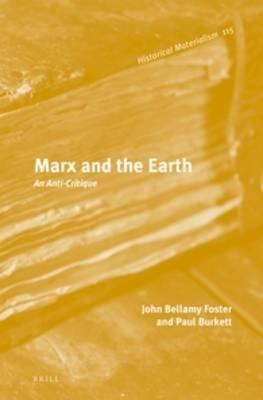 Marx and the Earth (BOK)