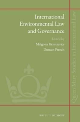 International Environmental Law and Governance (BOK)