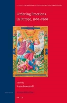 Ordering Emotions in Europe, 1100-1800 (BOK)