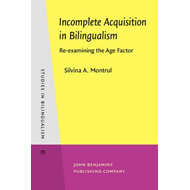 Incomplete Acquisition in Bilingualism (BOK)