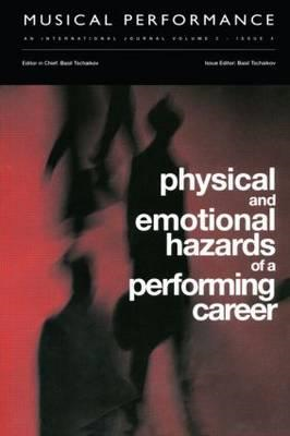 Physical and Emotional Hazards of a Performing Career (BOK)