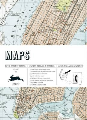 Maps: Gift and Creative Paper Book (BOK)