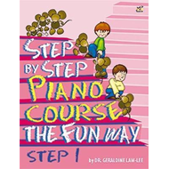 Step By Step Piano Course The Fun Way 1 (BOK)