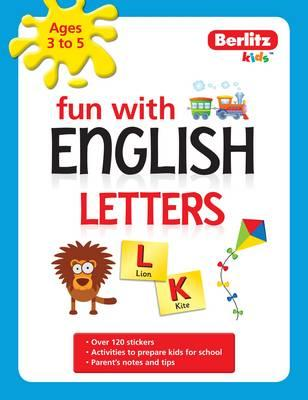 Berlitz Language: Fun with English: Letters (3-5 Yrs) (BOK)