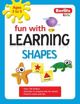 Berlitz Fun With Learning: Shapes (3-5 Years) (BOK)