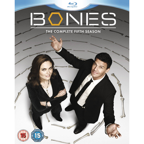 Bones - Sesong 5 (UK-import) (BLU-RAY)