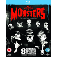 Universal Classic Monsters - The Essential Collection (BLU-RAY)