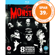 Produktbilde for Universal Classic Monsters - The Essential Collection (BLU-RAY)
