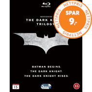 Produktbilde for Batman - The Dark Knight Trilogy (BLU-RAY)