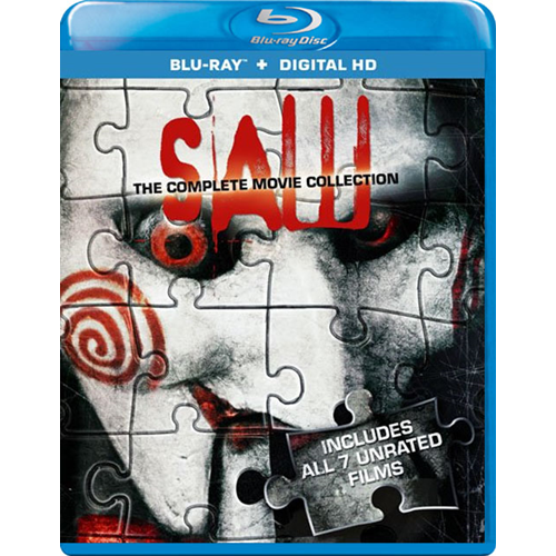 Saw - The Complete Collection (BLU-RAY)