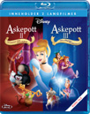 Askepott 2 & 3 (BLU-RAY)