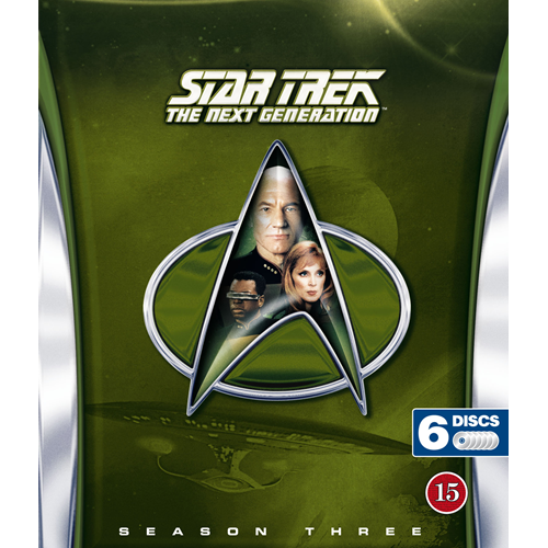 Star Trek - The Next Generation - Sesong 3 (BLU-RAY)
