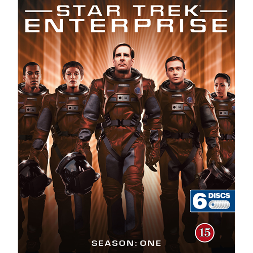 Star Trek - Enterprise - Sesong 1 (BLU-RAY)