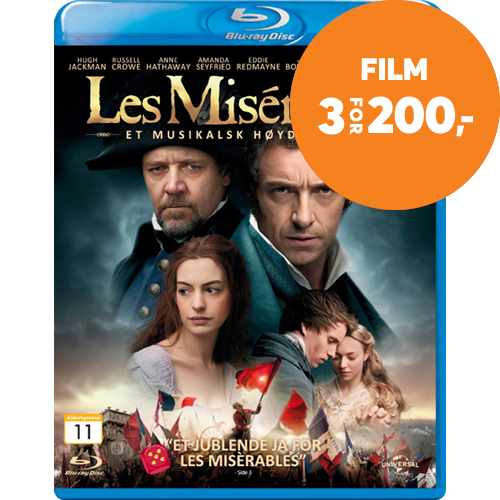 Les Miserables (2012) (BLU-RAY)